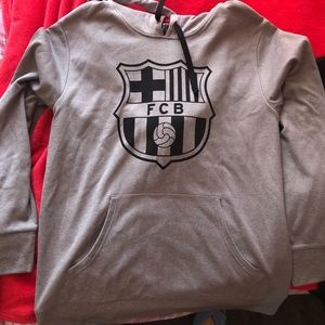 Men's Futbol club Barcelona hoodie in M